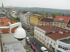 Kamerový systém v Novém Městě nad Metují.