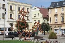 Rezavá skulptura žádnou velkou přízeň místních nezískala.