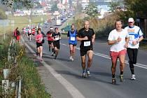 Tradiční silniční běh Hronov - Náchod.