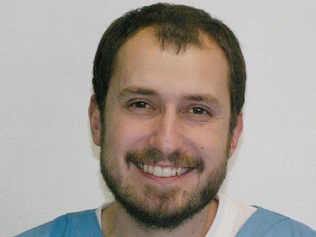 Veterinární lékař Tomáš Beneš.