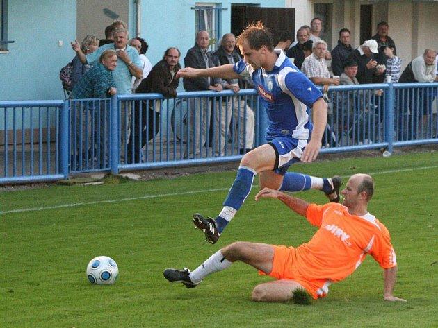 Na podzimním vítězství Náchoda s Převýšovem se dvěma góly podíleli Marek Jandík a Daniel Zinke, který již v týmu není.