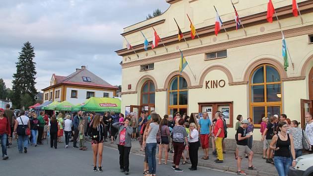 Horolezecký festival v Teplicích.