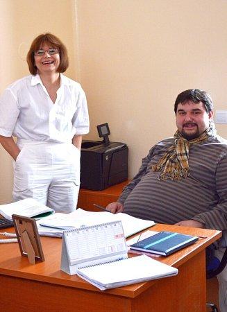 Filmař Tomáš Magnusek a jeho štáb natáčeli na oddělení psychiatrie.