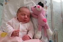 Mína se narodila v úterý 24. března 2020 v 9:36 hodin v náchodské porodnici. Její míry byly 2,77 kg a 47 cm.
