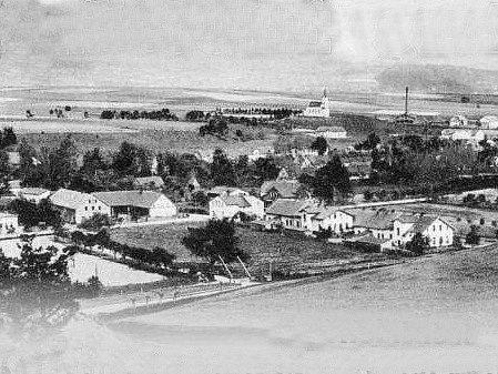 Před sto lety bylo ve Velkém Poříčí jen pár domů.