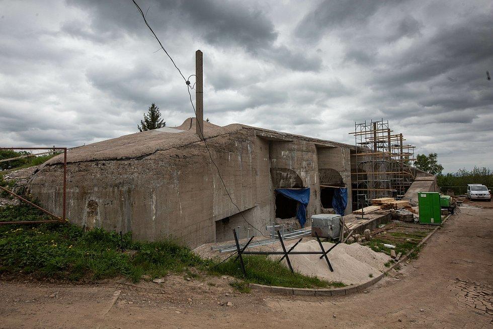 Pevnost Dobrošov prochází rozsáhlou rekonstrukcí, která skončí v roce 2021.