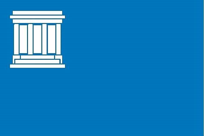 Návrh vlajky pro město Hronov (č. 2).