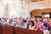 Čtvrtý koncert festivalu v Martínkovicích - vystoupení Julie Svěcené.
