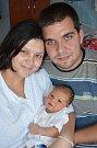 TOBIÁŠ LEXA je prvním potomkem Laďky a Lukáše z Jaroměře Josefova. Narodil se 6. září 2016 ve 22.59 hodin a vážil 4400 gramů.