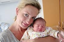 ANNA GRIMOVÁ přišla na svět 23. září 2010 v 9:08 hodin s váhou 3745 g a délkou 50 cm. S rodiči Ladislavou a Vladimírem, a se sestřičkou Deniskou (4,5), má domov v Novém Městě nad Metují.