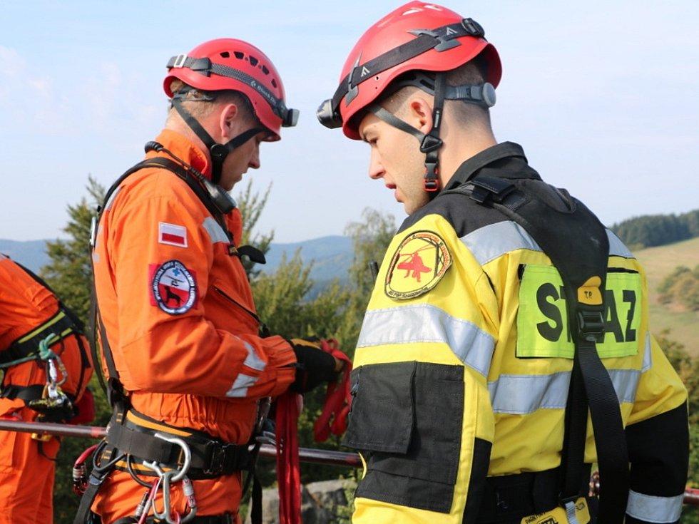 Bezpečné pohraničí: Zvýšil se počet společných zásahů s polskými hasiči.