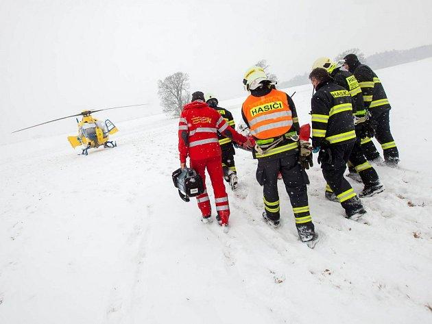 Havárie běloruského zájezdového autobusu s dětmi u Hořiček na Náchodsku.