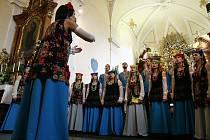 Výjezdní koncert sborů IFAS 2018 v České Skalici.