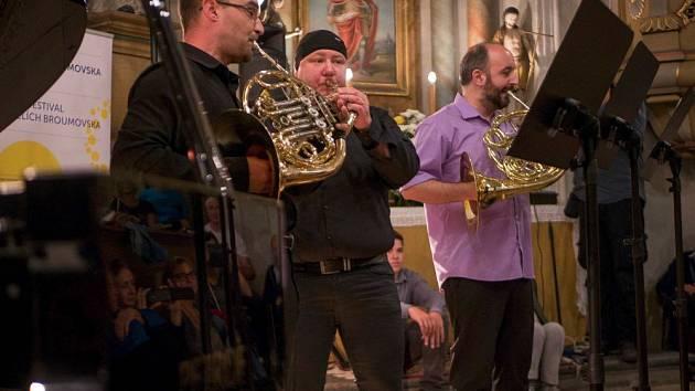Letní hornové kurzy zakončil koncert v kostele.