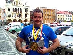 MEDAILOVÉ ŽNĚ. Kromě zlata z mistrovství světa vybojoval letos Martin Horák ještě stříbrné medaile na mistrovství Evropy i na Světovém poháru.