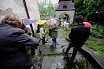 Za poklady Broumovska tentokrát ve zdoňovskék kostele.