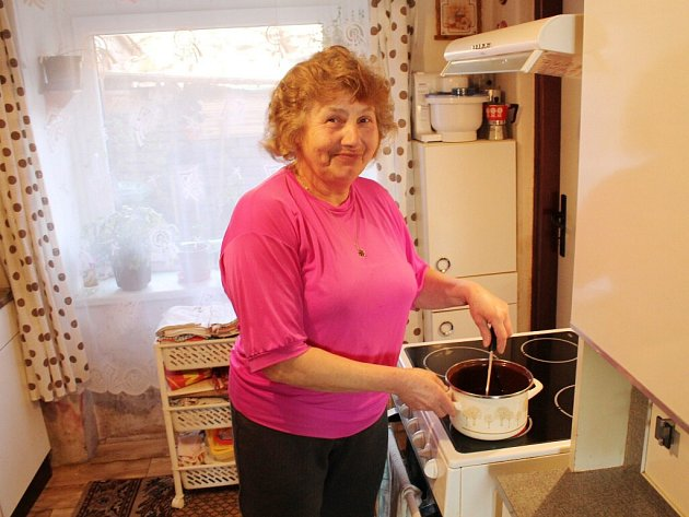 Anna Týfová z Martínkovic má ráda typickou českou kuchyni.