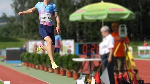Atletická Velká cena Nového Města nad Metují.