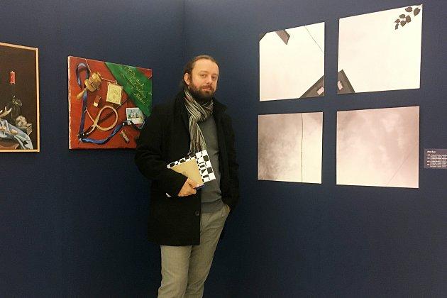 Uvystavených prací na výstavě Náchodský výtvarný podzim vGalerii výtvarného umění vNáchodě vroce 2019.