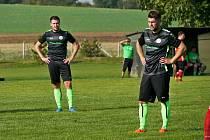 Fotbalisté Velichovek po přestřelce vyloupili Zábrodi.