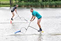 5. ročník mistrovství České republiky v jízdě na vodních ptácích Water-bird CUP 2012.