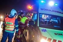 Dopravní nehoda u obce Bohuslavice nad Metují.