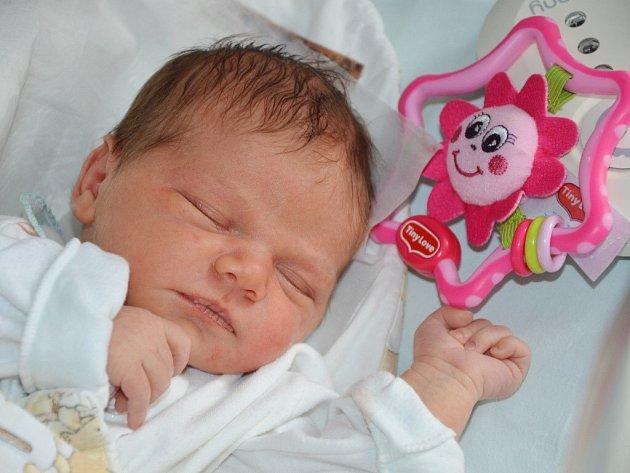 ADÉLA PETRÁŠOVÁ se narodila 15. dubna 2014 v 0:45 hodin rodičům Ditě a Honzovi z Náchoda. Holčička po narození vážila 3520 gramů a měřila 49 centimetrů. Na sestřičku se doma těší dvouletá Anička.