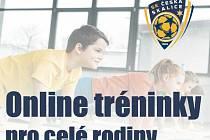 Online tréninky pořádá SK Česká Skalice.
