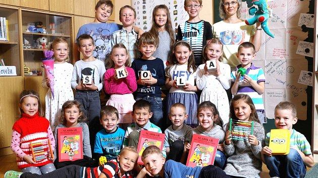 Žáci 1.B ze ZŠ Malecí v Novém Městě nad Metují