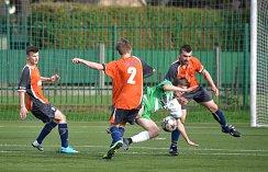 OD SRPNA bude hrát náchodská rezerva (v oranžových dresech) své domácí zápasy v Provodově.