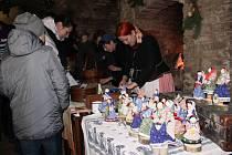 Na Vánoce nezapomněli ani v josefovské pevnosti.