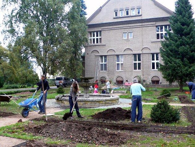 VÍCE NEŽ 240 RŮŽÍ zasadili pracovníci Centra rozvoje Česká Skalice, desítky dobrovolníků a rodinných příslušníků, kteří se s nadšením pustili do obnovy rozária.
