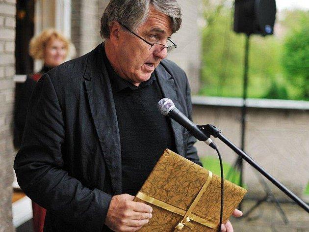 Jaroslav Bouček převzal Cenu Ladislava Čerycha.