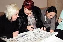 PO TŘECH SCHŮZKÁCH s občany se sešlo dostatek informací potřebných pro zpracování plánu.