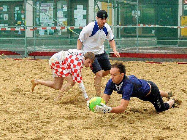 Pohyb v mokrém písku byl pro většinu hráčů novou zkušeností, které museli přizpůsobit herní styl.