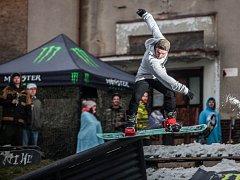 První ročník snowboard freeski závodu nazvaný Boardstar Snowblink Jam se konal v sobotu v Novém Městě nad Metují.