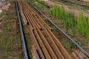 Výluka na vlakovém nádraží v Jaroměři a rekonstrukce nádraží.
