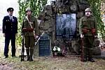Oslavy začaly pietním aktem u Památníku obětí válek.