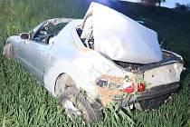 Úterní vážná nehoda u Jaroměře