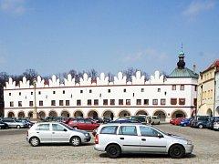 Novoměstské historické náměstí.