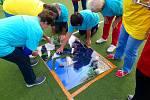 Senioři v Broumově si rádi hrají! První ročník sportovní olympiády jim rozproudil krev v žilách.