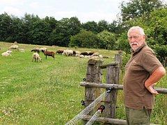 Z PASTVIN zahánějí Krecbachovi ovce na noc do ohrady. Vlci si ale pro ně přišli i tam.