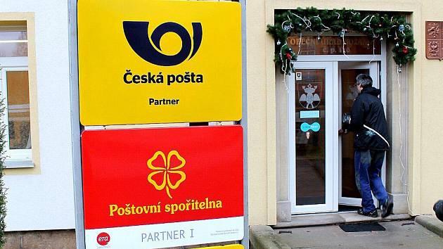 Pošta Partner v Božanově.