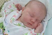 LILIANA HAVLÍČKOVÁ poprvé vykoukla na svět 6. října 2016 ve 22.15 hodin. Její míry byly 3990 gramů a 51 centimetrů. S rodiči Ivou Mertlíkovou a Patrikem Havlíčkem jsou z Náchoda, kde se na Lilianku těšily sestřičky Karolínka (9 let) a Nikolka (16 měsíců).