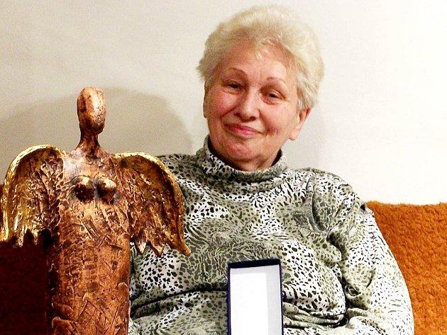 Drahoslava Divíšková a její zasloužená ocenění.