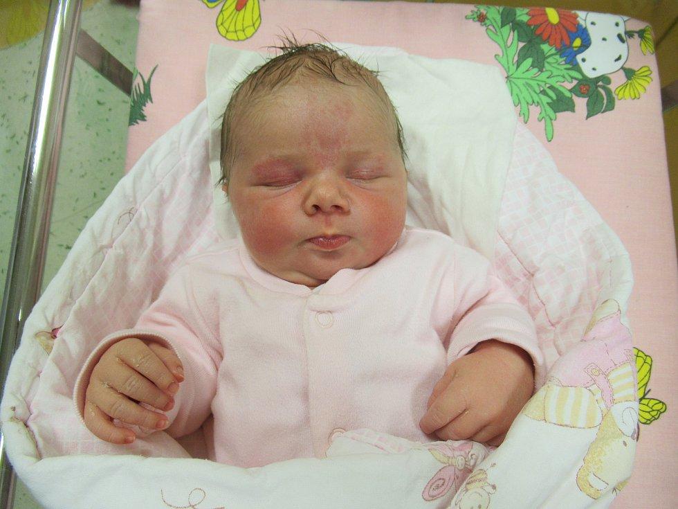 Tereza se narodila v pátek 6. března 2020 v 10:50 hodin. Její míry byly 3,48 kg a 46 cm.