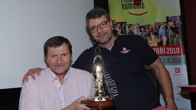 Prezidentem a patronem novoměstského festivalu je  Jan Hrušínský. Moderátorem celého festivalu je opět Michal Jančařík.