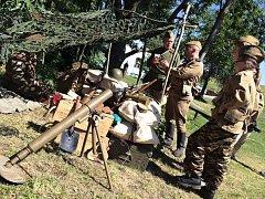 Pro návštěvníky pevnosti Dobrošov byla připravena akce k výročí sedmdesáti let od konce 2. světové války.