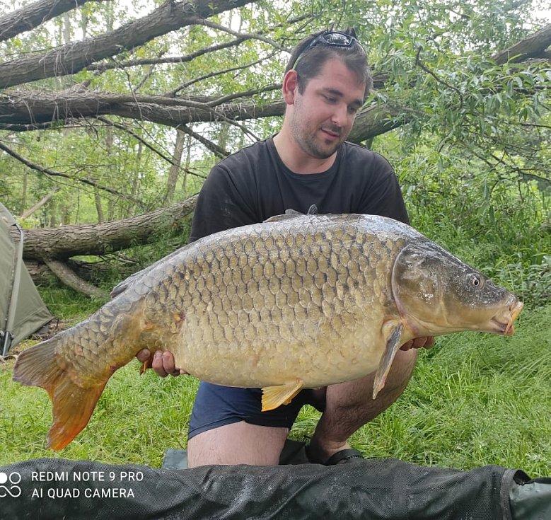 Ondřej Klimeš z Horní Radechové jezdí rybařit na Rozkoš asi jen dvakrát do roka. Raději má pískovny okolo Hradce Králové.