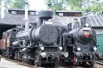 Muzejní vlak.